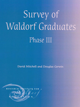 Cover für Survey of Waldorf Graduates III