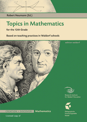 Cover für Topics in Mathematics for the 12th Grade (volume 1)