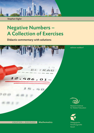Cover für Negative Numbers - Teacher's book