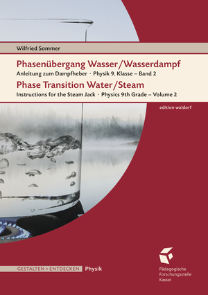 Cover für Phasenübergang Wasser/Wasserdampf • Phase Transition Water/Steam
